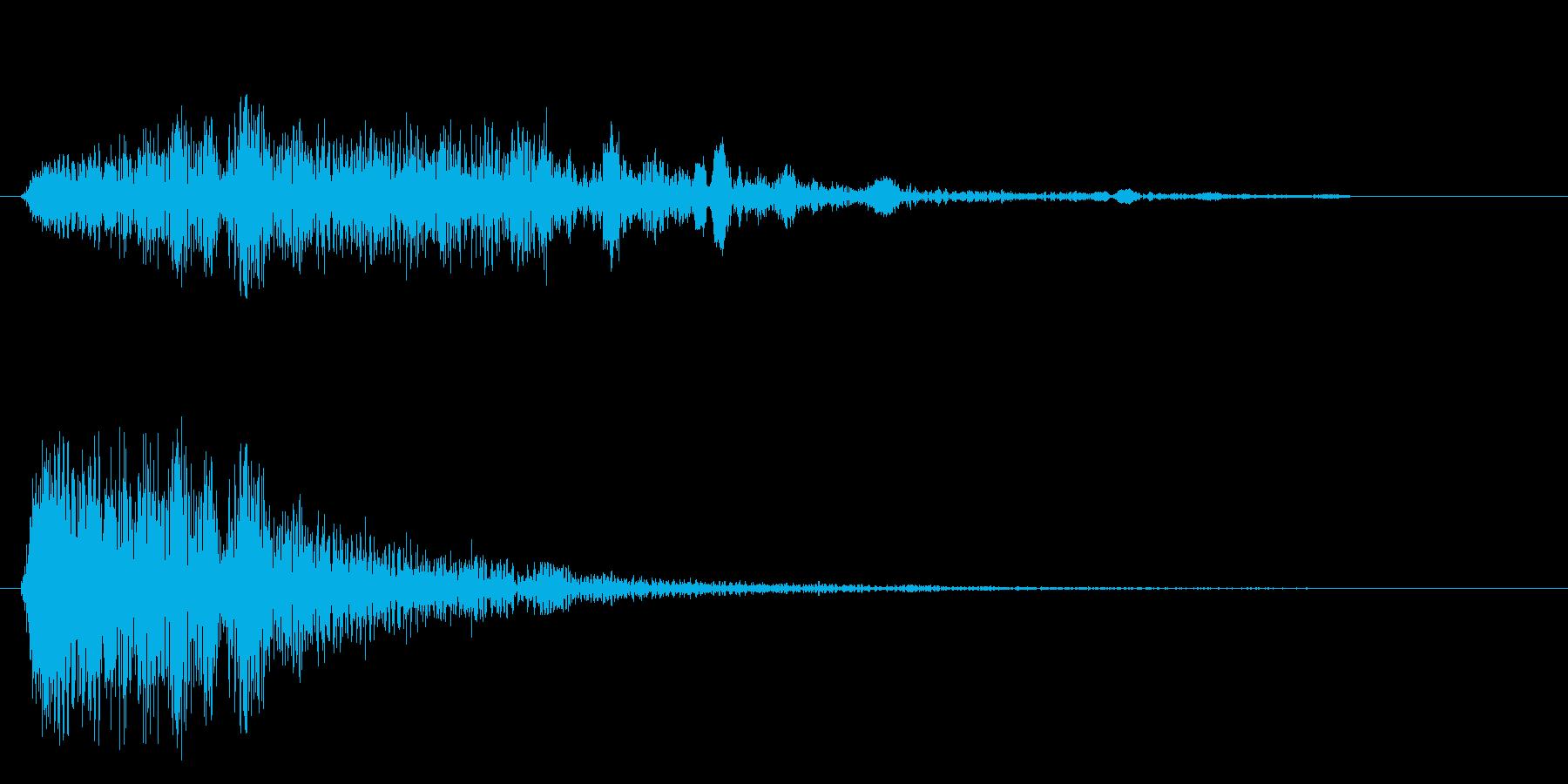 ビュイーン(攻撃などの発射音)の再生済みの波形