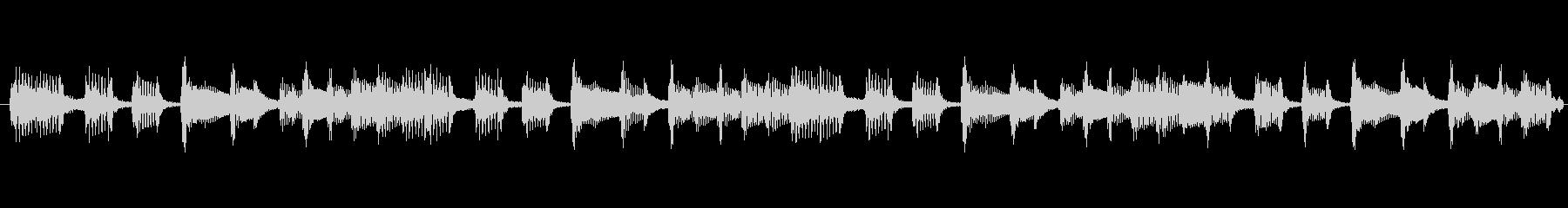 TVラジオ放送用。出囃子ピアノバイオリンの未再生の波形