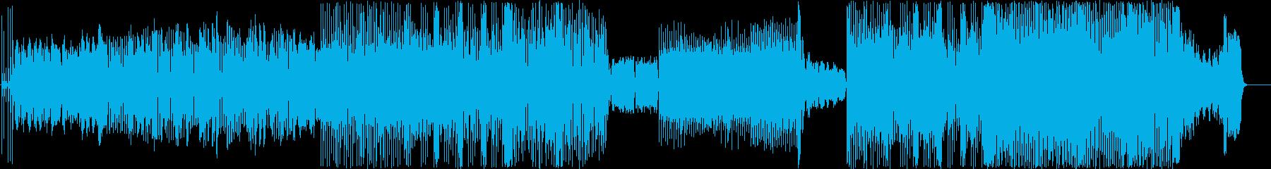 【変拍子】夏、けだるい、アコーディオンの再生済みの波形