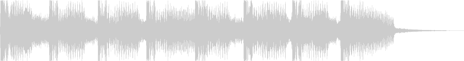 キラキラサウンドのアイキャッチの未再生の波形