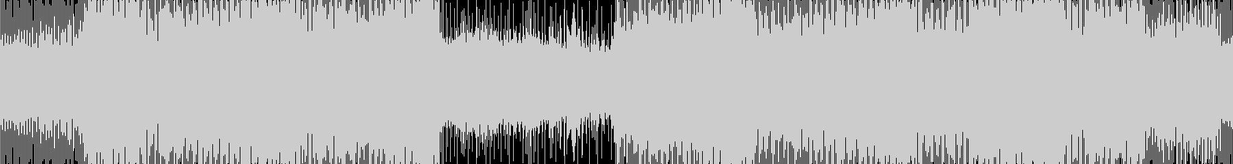 緊張感あるクールなテクスチャー ループ版の未再生の波形