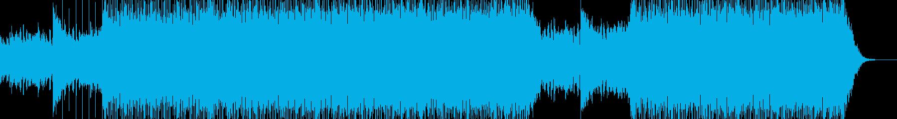 ぬくもりのあるコーポレート系BGMの再生済みの波形