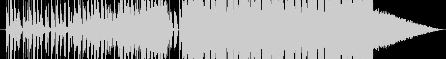 ビートが効いた爽やかなBGMショートの未再生の波形