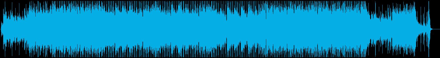 夏の海に合う元気なポップスの再生済みの波形