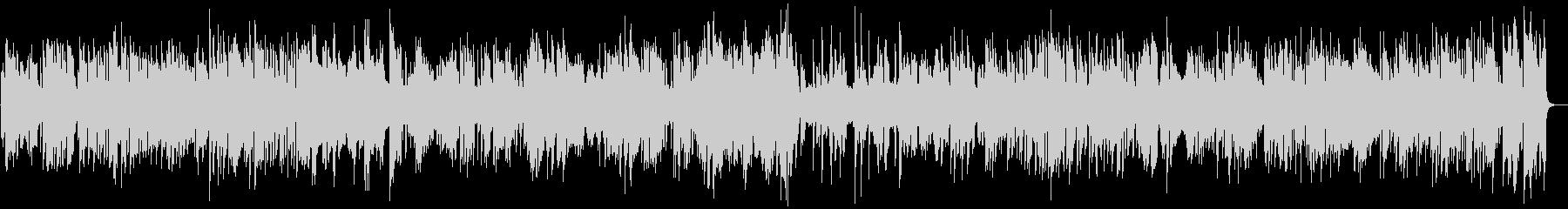 アルトサックスとギターのジャズBGMの未再生の波形