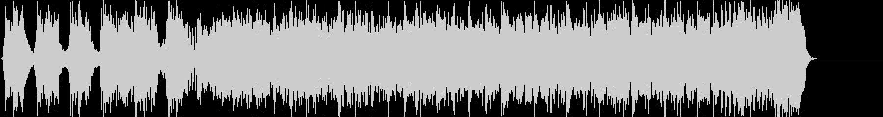 ハードコア風ショートサウンド#01の未再生の波形
