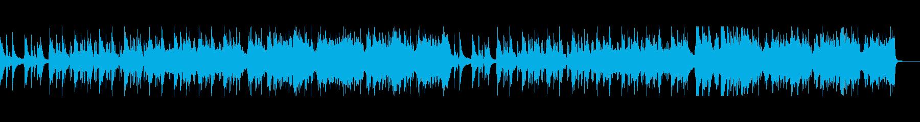 アニメ ジブリエンディング風ローファイ の再生済みの波形