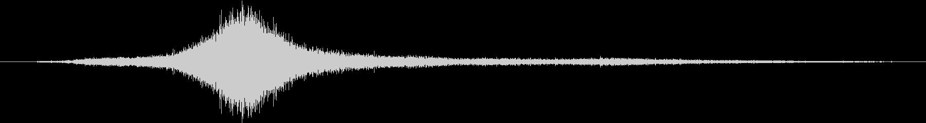 エアバスA319旅客機:内線:頭上...の未再生の波形