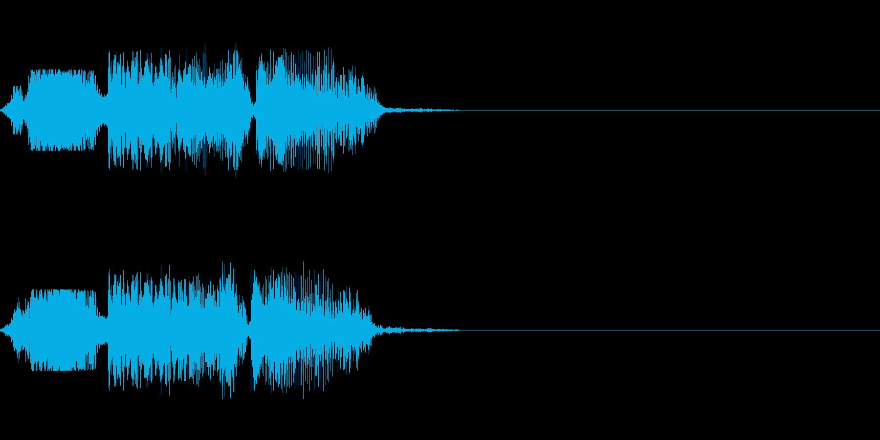 FMラジオパワープレイジングル の再生済みの波形