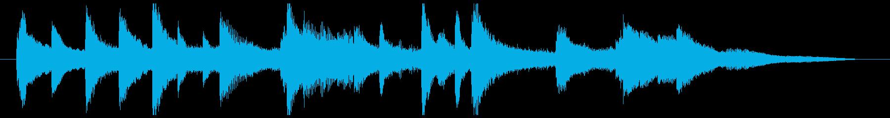 Piano01・ジングル・優しいの再生済みの波形