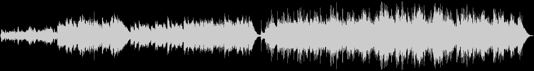 エレクトロニック 説明的 静か バ...の未再生の波形
