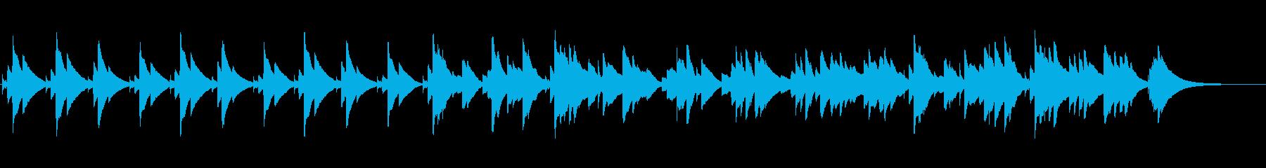 眠くなるオルゴールのBGM(約2分)の再生済みの波形