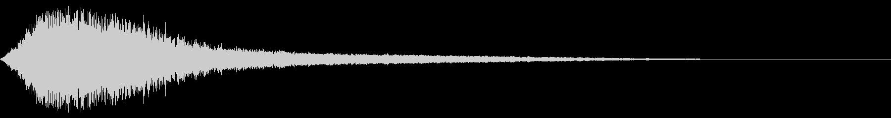 シャキーン キラーン☆強烈な輝き!12bの未再生の波形