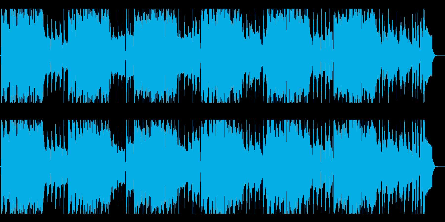 いたずらっぽい子猫のジャズブルースの再生済みの波形