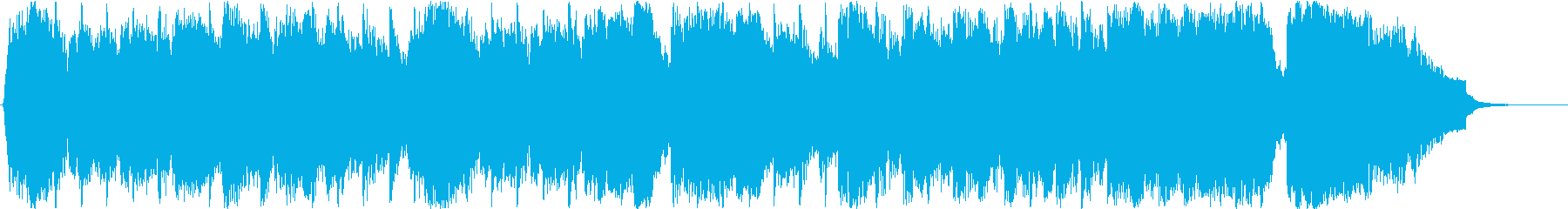 疾走感・期待感のBGMの再生済みの波形