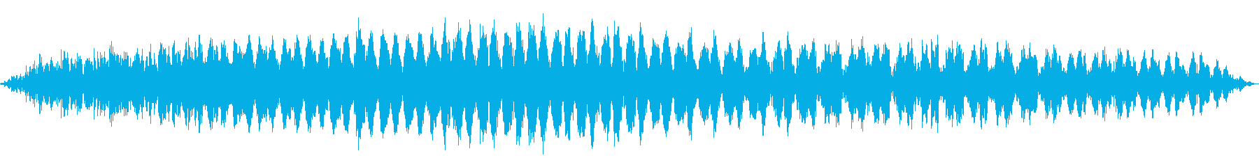 SF UFOの飛行の再生済みの波形