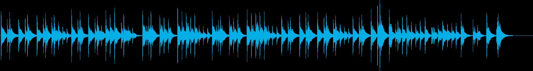 交響曲第9番第2楽章 家路 オルゴールの再生済みの波形