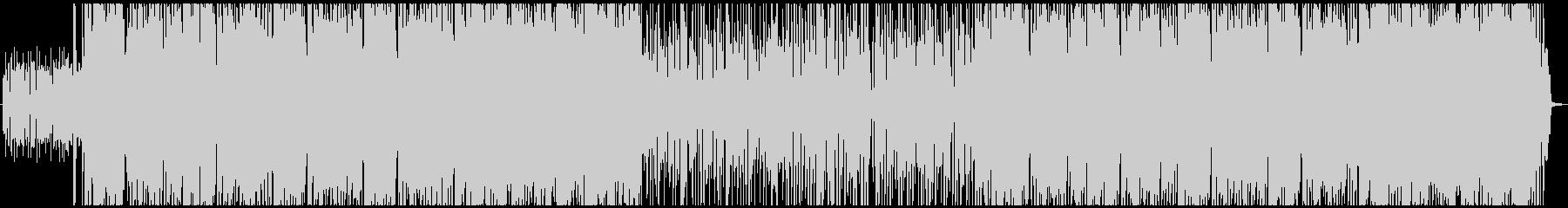 ミドルテンポののギターインストの未再生の波形