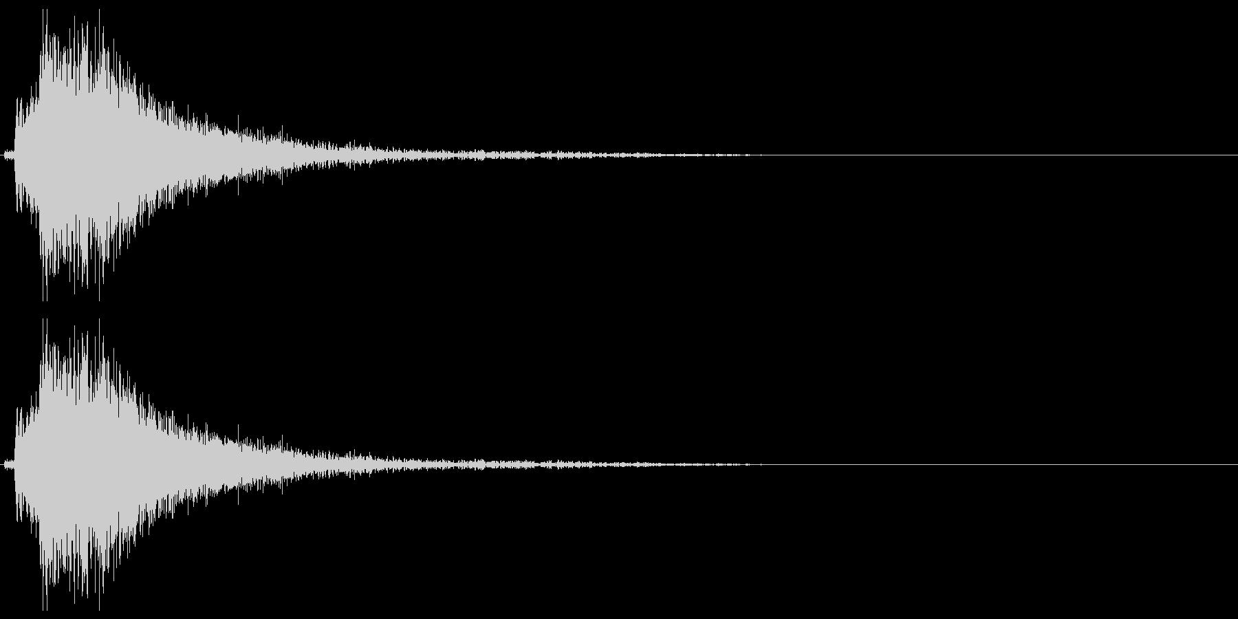 ドアメタルバングシャットガラガラbの未再生の波形
