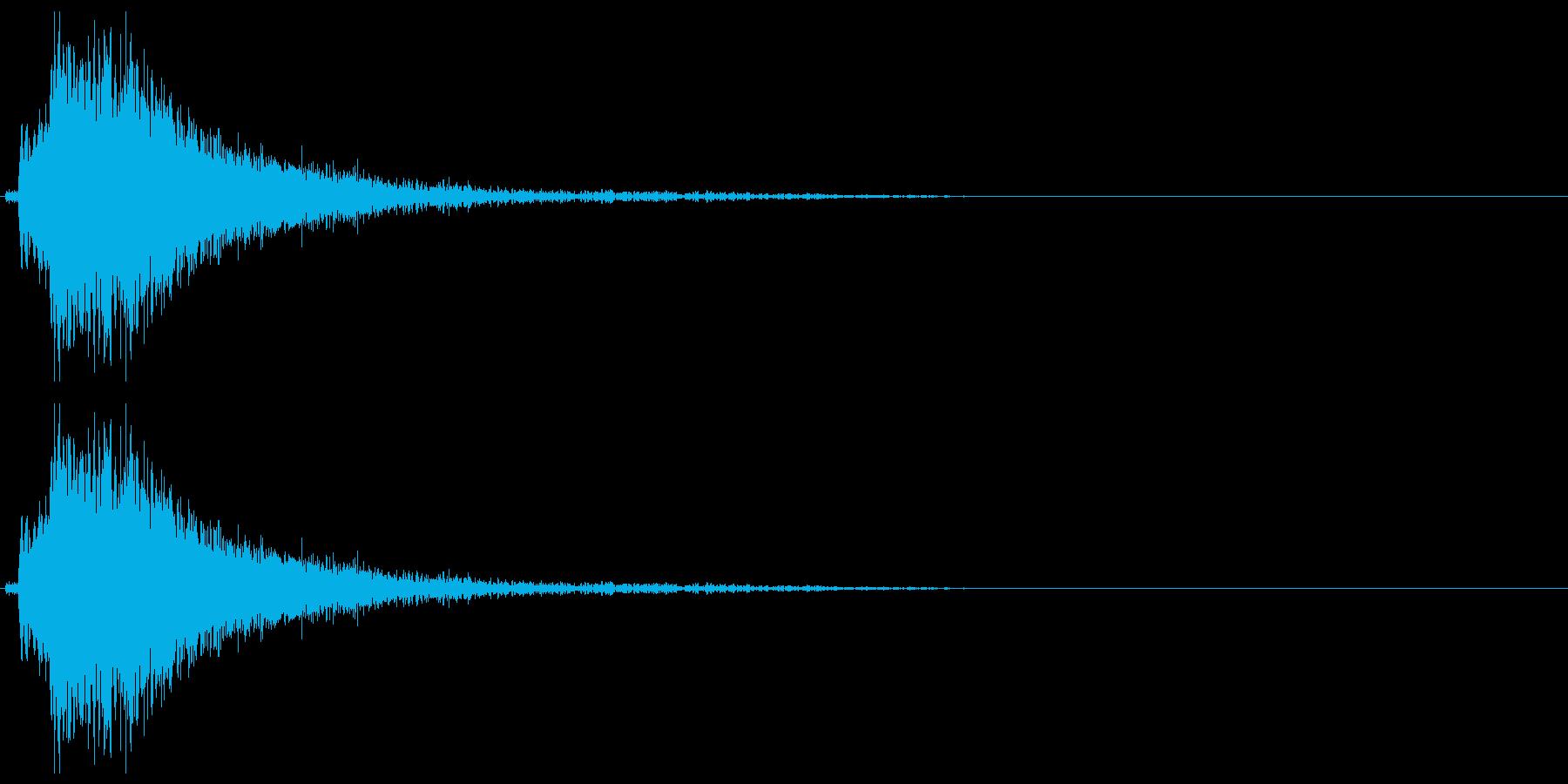 ドアメタルバングシャットガラガラbの再生済みの波形