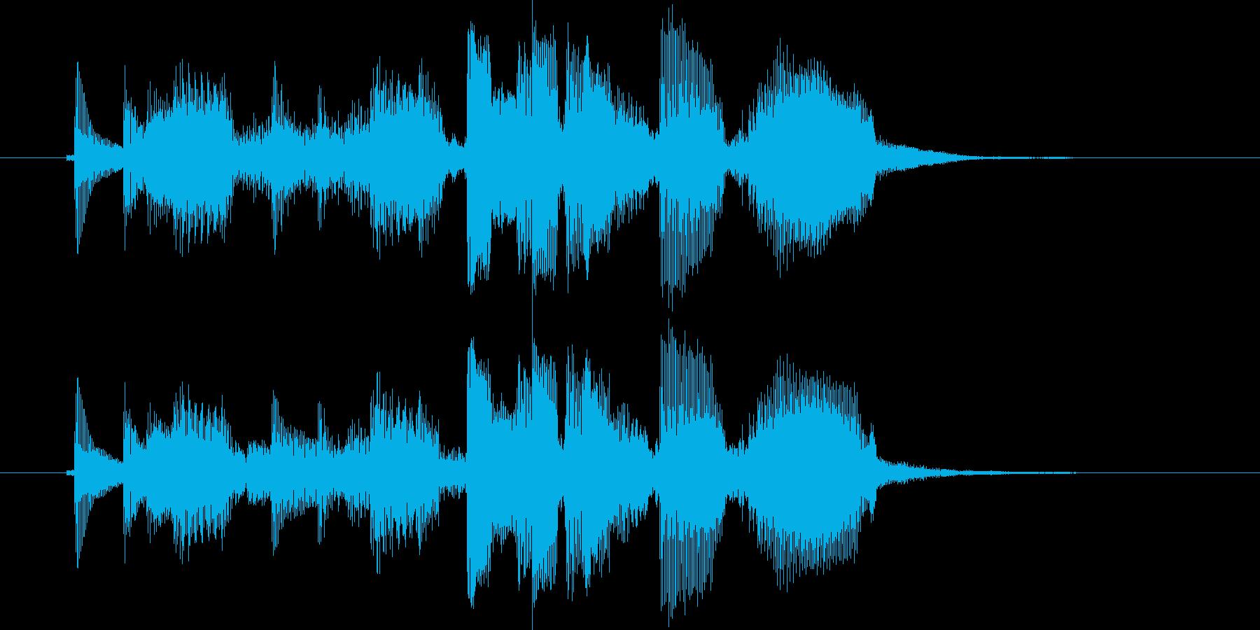 エレキ カントリー切り替え4 ショーの再生済みの波形