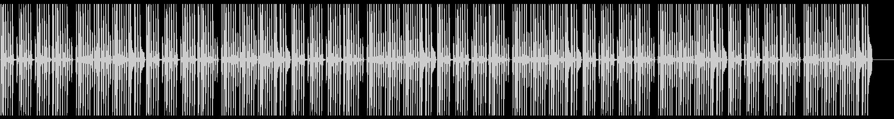 ほんわかした日常系BGMの未再生の波形