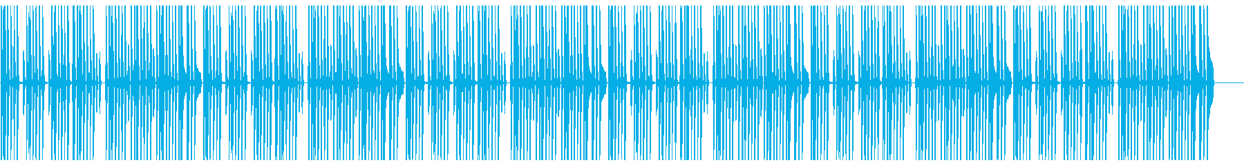 ほんわかした日常系BGMの再生済みの波形