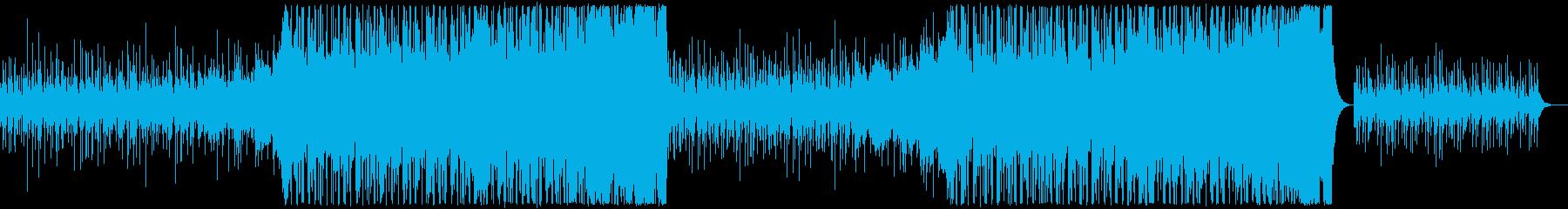 おしゃれ13の再生済みの波形