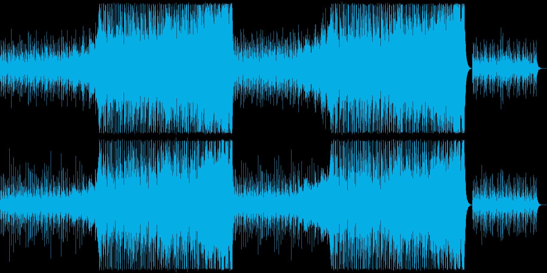 ノスタルジックでおしゃれなアコーステックの再生済みの波形