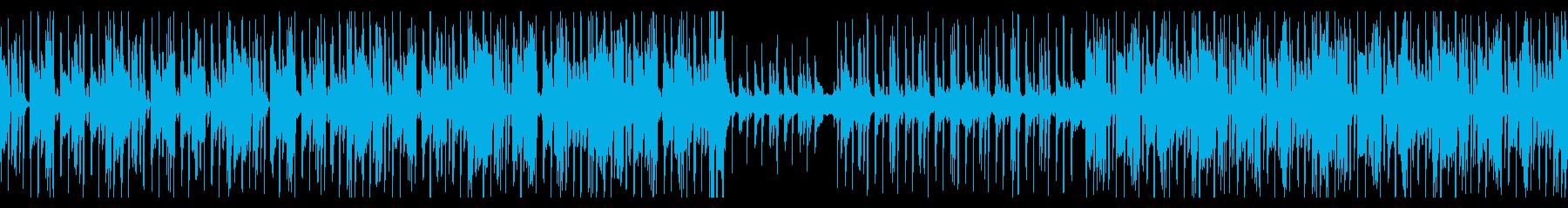 HIPHOPトラック/ゲーム/CMの再生済みの波形