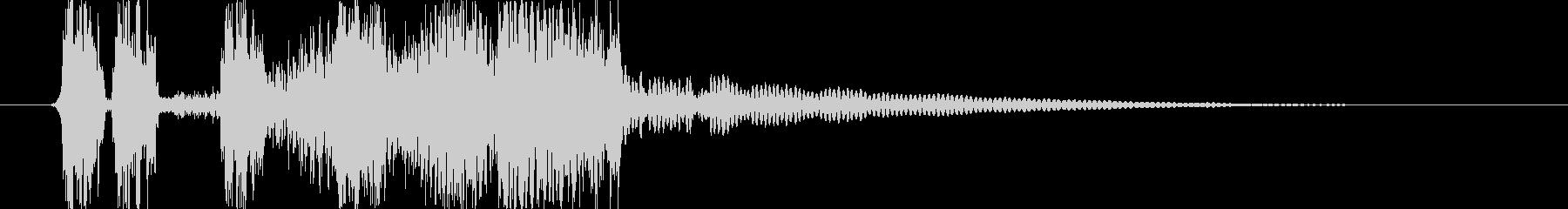 トランジション フラッシュ23の未再生の波形