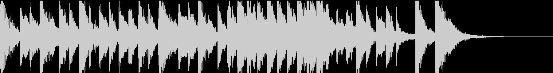 クラシック調のコミカル/ジングルの未再生の波形