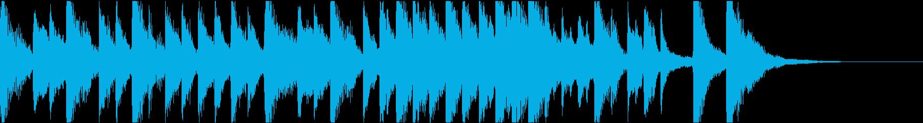 クラシック調のコミカル/ジングルの再生済みの波形