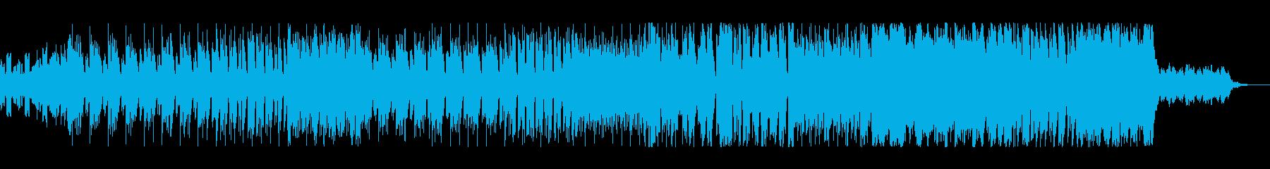 疾走感・捜査感たっぷりのEDMの再生済みの波形