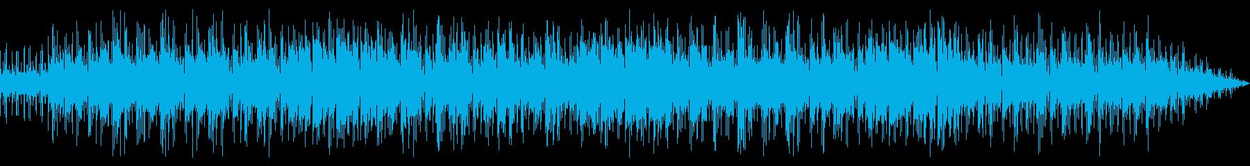 ほんわかしたインストポップの再生済みの波形