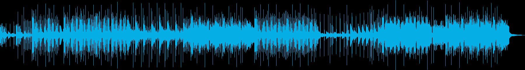 軽めのビートと涼しげなリフが特徴なEDMの再生済みの波形