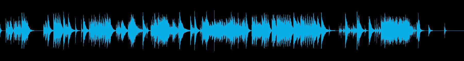 亜麻色の髪の乙女・オルゴ-ルの再生済みの波形