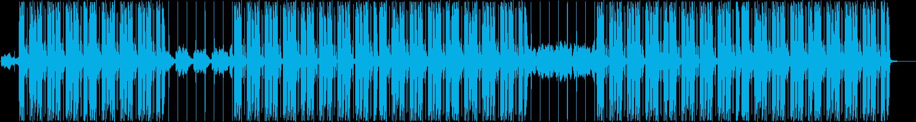 ローファイ、トラップ、ヒップホップ♪の再生済みの波形