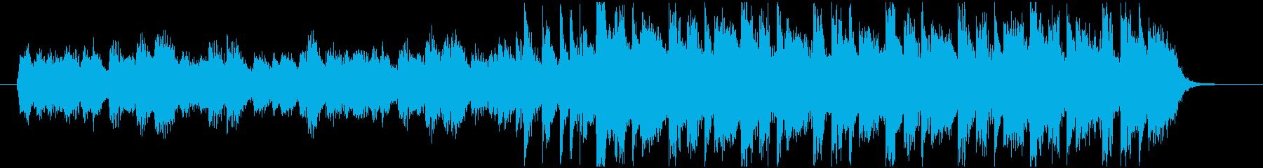 ニュースやラジオのオープニング系ジングルの再生済みの波形