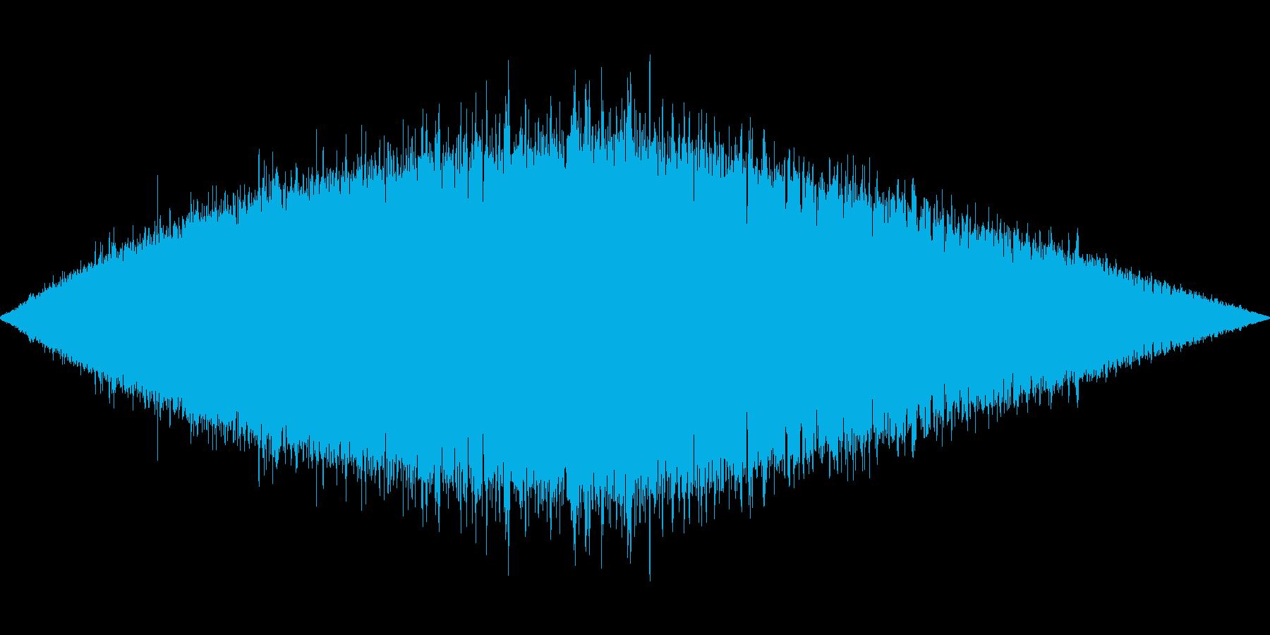 プーイプーイプーイプーイの再生済みの波形