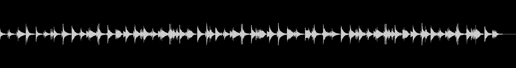 夜カフェ バー オシャレ ジャズピアノ の未再生の波形