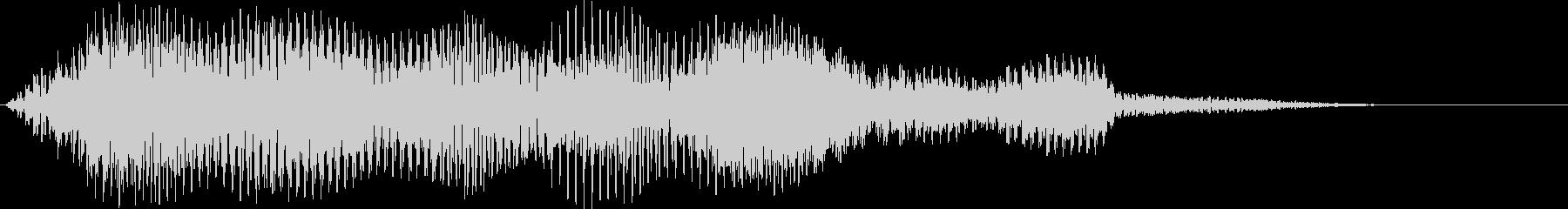 ホラー・サスペンス用音源の未再生の波形