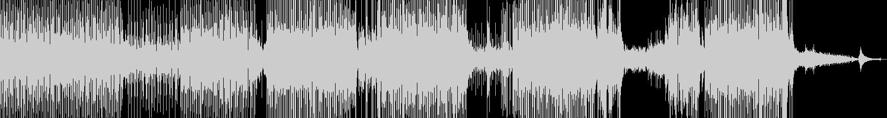 ギター・涼しいポップ 後半ドラム・長尺Bの未再生の波形
