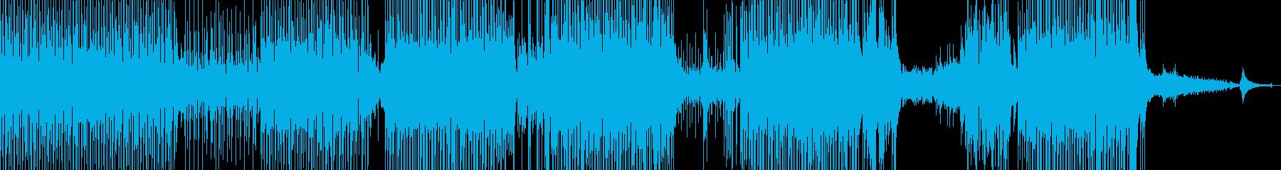 ギター・涼しいポップ 後半ドラム・長尺Bの再生済みの波形