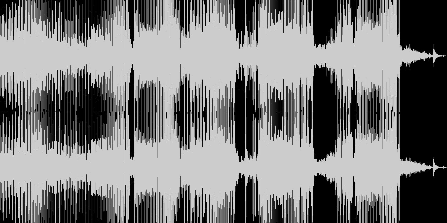 涼しいアコギポップ 打楽器→ドラム ★の未再生の波形