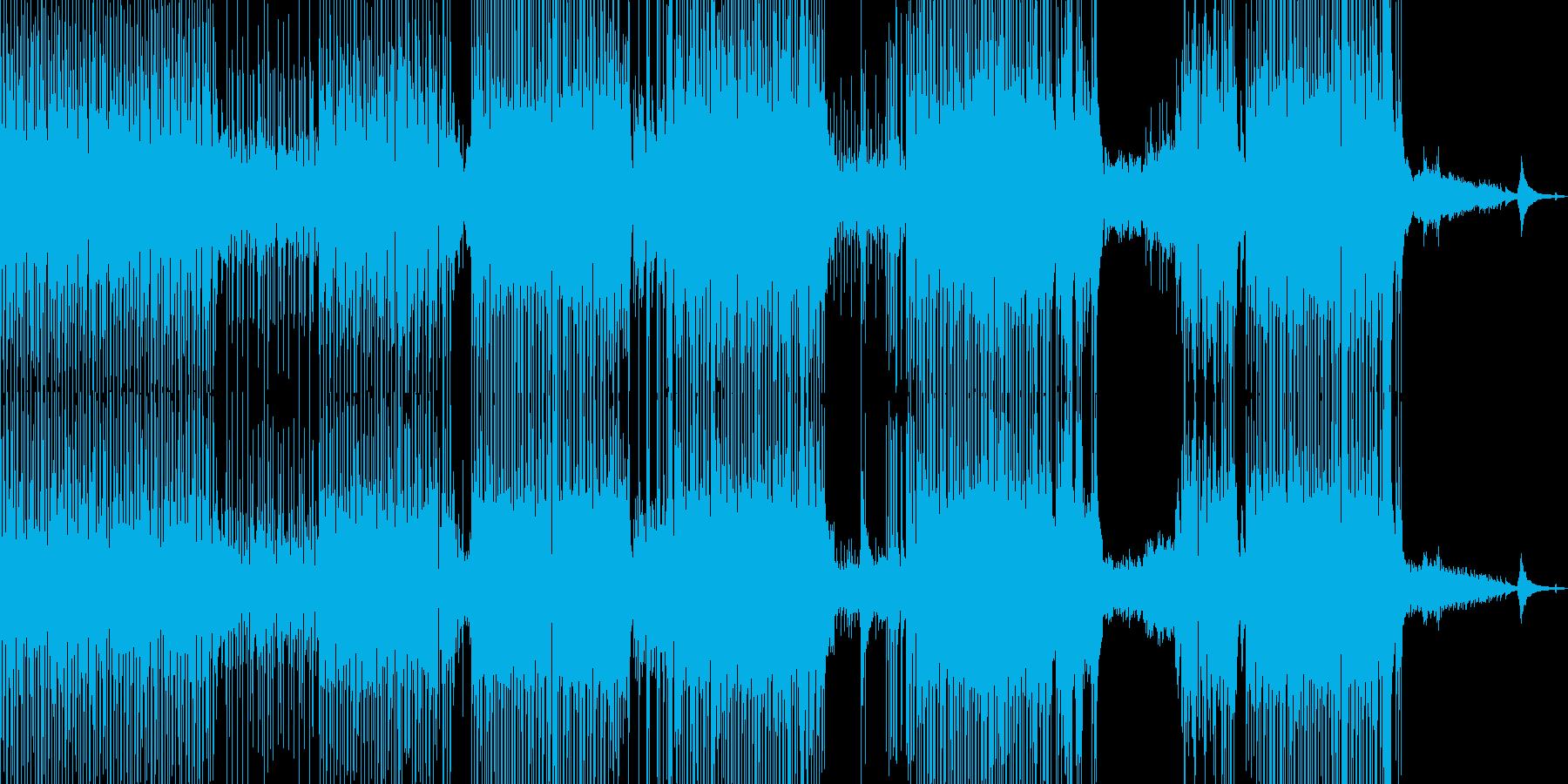 涼しいアコギポップ 打楽器→ドラム ★の再生済みの波形