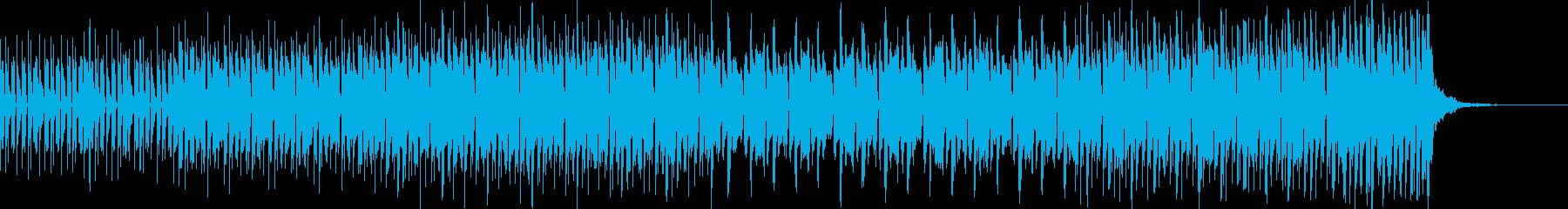 バトル:近未来的コミカルテクノ60秒の再生済みの波形