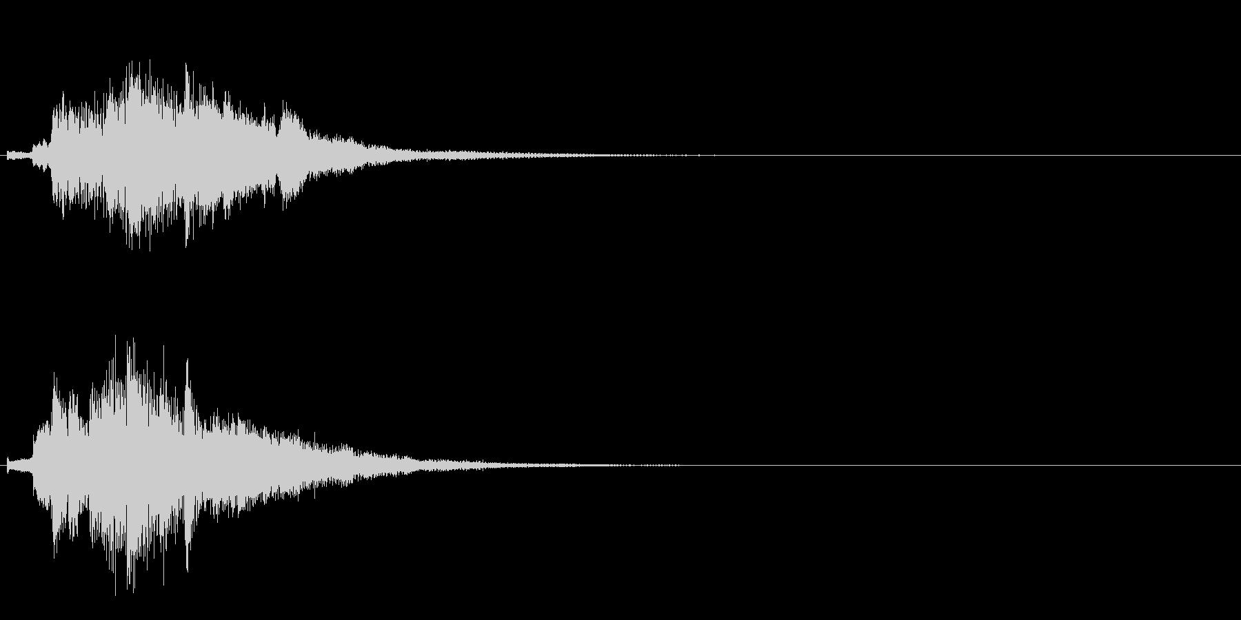 ハープ・上昇_9-3の未再生の波形