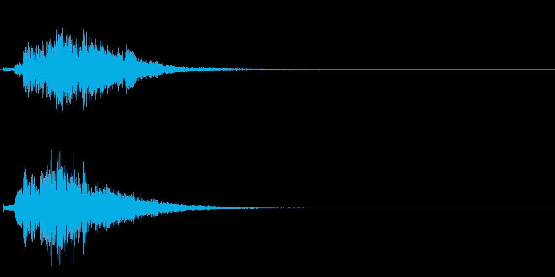 ハープ・上昇_9-3の再生済みの波形