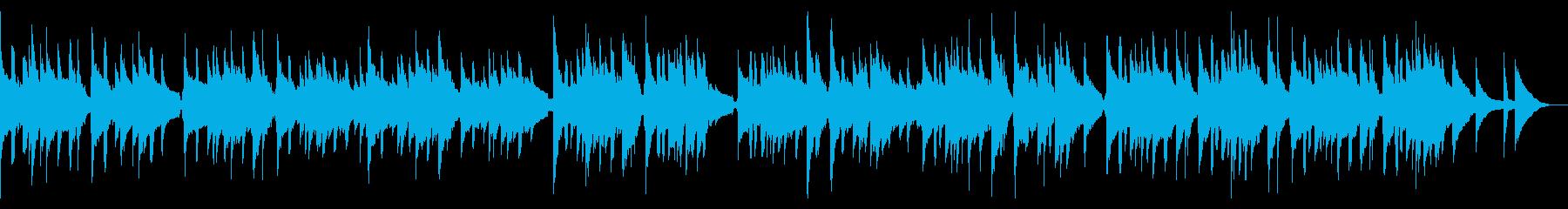 【生演奏】ほのぼのアコースティックポップの再生済みの波形